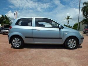 2004 Hyundai Getz TB MY04 GL Blue 4 Speed Automatic Hatchback Rosslea Townsville City Preview
