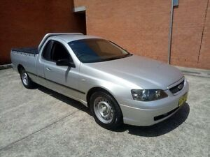 2005 Ford Falcon BA Mk II SE Silver 4 Speed Automatic Utility Yagoona Bankstown Area Preview