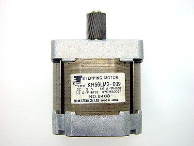 Japan Servo KH56LM2-039 Stepping Motor, HP 07BM80021, 5VDC, 1.6A, 3.2Ω