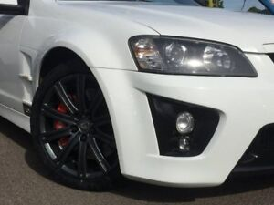 2009 Holden Special Vehicles Maloo White Sports Automatic Utility