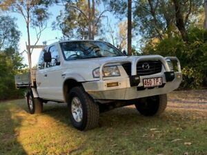 2005 Mazda Bravo B2500 Free Style DX Utility Extended Cab 4dr Man 5sp 4x4 2.5 White Manual Utility Sheldon Brisbane South East Preview