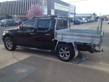 2009 Nissan Navara D40 Titanium Black 6 Speed Manual Utility Fyshwick South Canberra Preview