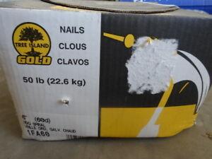 """50lb box 6"""" nails"""