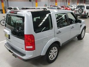 2008 Land Rover Discovery 3 Series 3 09MY SE Silver 6 Speed Sports Automatic Wagon Maryville Newcastle Area Preview