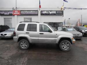 2007 Jeep Liberty Limited 4X4 TrailRated 1 yr unlimited warranty