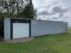 40 ft Shipping Container w/ Side Roll Up Door Lloydminster Alberta Preview