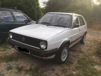 VW Golf MK2 1.3L, restored + MOT