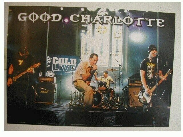 Good Charlotte Band Shot Poster In Commercial