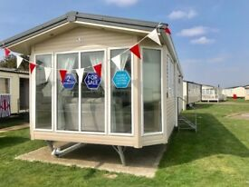 SAVE THOUSANDS ON SITE FEES Static Caravan in Essex, Martello Beach, 2 Bedroom