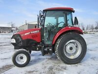 2010 Case IH 75C Tractor with Cab