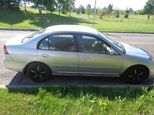 2002 Honda Civic EX Berline ***NEGO***
