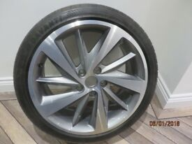ALLOY WHEEL FOR SEAT LEON ST FR TECH PACK AS NEW