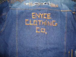 **ENYCE****BLUE JEAN DENIM JACKET MENS XXXL 3X 3XL Kingston Kingston Area image 6