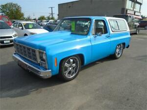 "1979 Chevy Blazer ""CUSTOM SHOW TRUCK CHIP FOOSE APPROVED!!'"