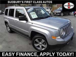 2016 Jeep Patriot 4x4!! HEATED LEATHER SEATS!! SUNROOF!!