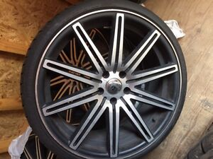 20 inch rimes with tires