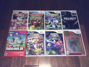 Nintendo - Wii Punch Out Mario Zelda Donkey Kong Sonic Colors