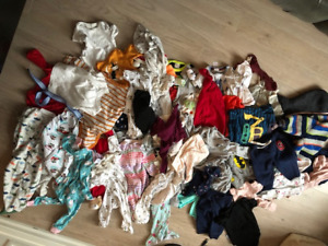 Large Bag of baby clothes - Less than 50 cents a piece!