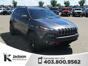 2014 Jeep Cherokee Trailhawk 4WD SUV- Heated Steering Wheel, NAV