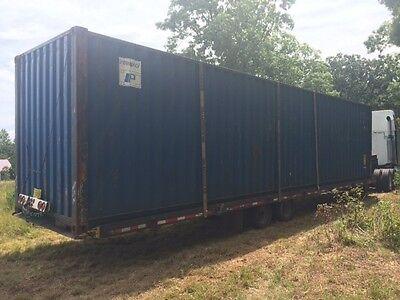 40 Hc Shipping Container Storage Container Conex Box In Miami Fl