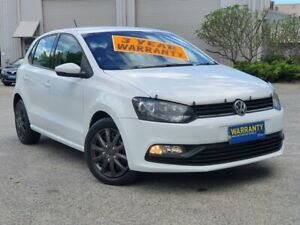 2015 Volkswagen Polo 6R MY15 66TSI Trendline White 5 Speed Manual Hatchback Mayfield East Newcastle Area Preview