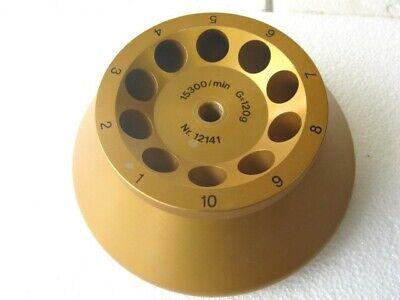 Sigma Sartorius Centrifuge Fixed Angle Rotor Nr. 12141