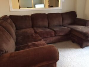 7 piece Sectional with chaise lounger