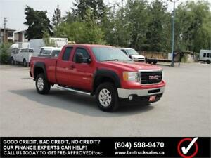 2011 GMC SIERRA 2500HD SLE EXT CAB SHORT BOX 4X4
