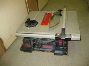 10 Inch Portable Jobsite Table Saw