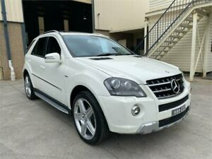 2011 Mercedes-Benz M-Class W164 MY10 ML300 CDI BlueEFFICIENCY White 7 Speed Sports Automatic Wagon Greystanes Parramatta Area Preview