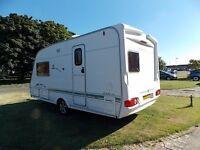 2004 Swift 460 SE 2 berth touring caravan