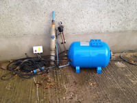 Well pump kit