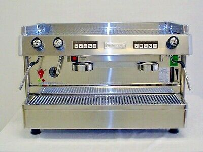 2 Group Programmable Commercial Espresso Cappuccino Machine Automatic Handmade