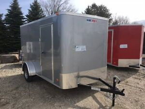 New 6x12  Ramp Door Trailer