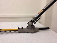 """Ryobi 18"""" Articulating hedge trimmer attachment with Expandit bar"""