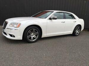 2012 Chrysler 300 LX MY12 C White 8 Speed Sports Automatic Sedan Moorabbin Kingston Area Preview