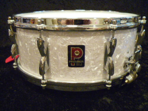 Premier Royal Ace snare drum, parallel strainer, nice shape and sound