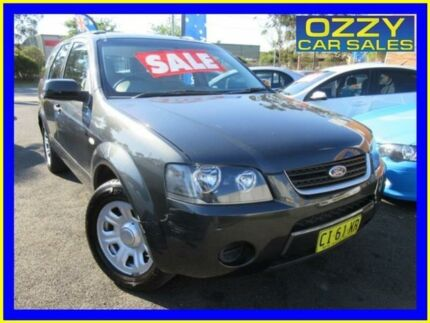 2007 Ford Territory SY TX (RWD) Grey 4 Speed Auto Seq Sportshift Wagon Minto Campbelltown Area Preview