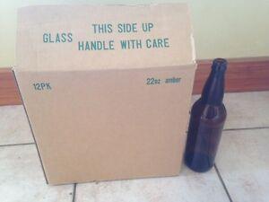 Bottles 650ml/22oz Amber (12 pack)