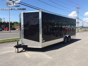 2018 NEW 8,5x24 7ft HIGH ENCLOSED CARGO TRAILER w/5200lbs AXLE