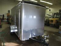 NEW 2015 6' X 10' CONTINENTAL CARGO BARN DOOR & ELECTRIC BRAKES