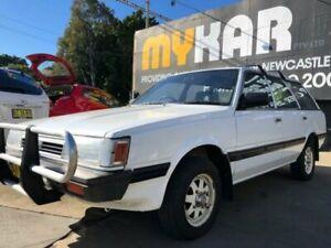 1990 Subaru Sportswagon (4WD) White 5 Speed Manual Wagon Islington Newcastle Area Preview
