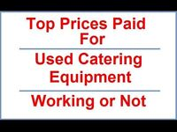 Commercial refrigeration & catering equipment wanted.