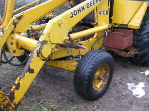 JOHN DEERE 410B C 510C 610C   BACKHOE  FOR PARTS