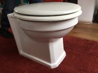 Toilet and seat new