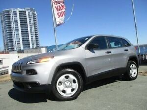 2015 Jeep Cherokee Sport 4X4 (CLEAN CARFAX, R/CAM, R/START, HEAT