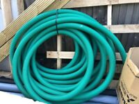 Ducting cable and underground mains water piping