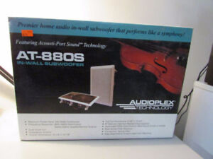 AUDIOPLEX TECHNOLOGY AT-880S IN-WALL SUBWOOFER