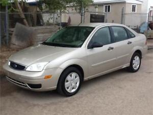 2007 Ford Focus $3000 FIRM  MID CITY 1831 SASK AVE