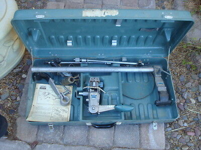 Tyco Amp Ma-6u Applicator Kit 231039-1 And 247284-1 With Hard Case And Manual